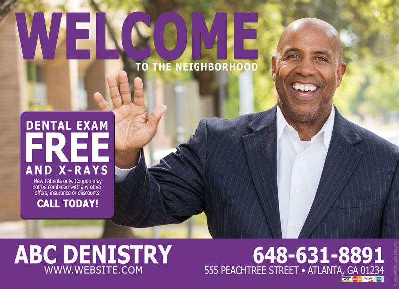 dentist postcard advertising